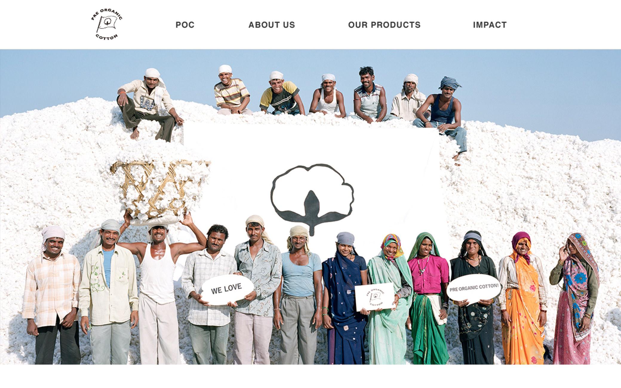 Pre Organic Cotton